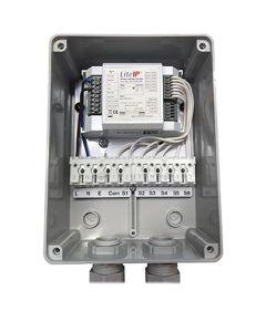 Glamox 650001001. Beleuchtung LMS Wireless SCENE CONTROLLER