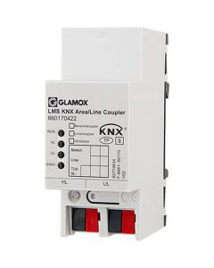 Glamox 660170422. Beleuchtung LMS KNX AREA/LINE COUPLER