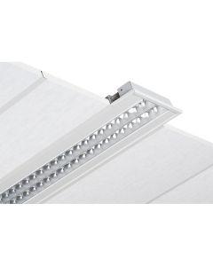Glamox C20082317. Innenraumleuchten C20-R312X1250 LED 6600 HF 840 LI 2XSU