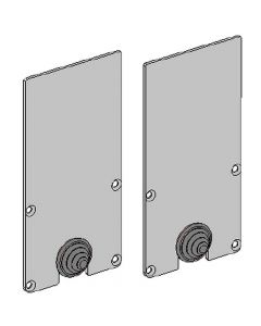 Glamox O669934521. Außenleuchten O66-R END CAPS (2 PCS)