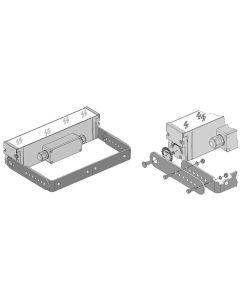 Glamox O669937221. Außenleuchten O66-W EXTENDABLE END bracketS Aluminium