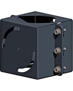 Glamox O80894616. Außenleuchten O80 TWIN bracket für POLE 102 ANTH