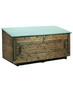 E/D/E DVE4010162431112 Fahrzeugbox Holz Inhalt 750 l, 1840 x 800 x 900 mm