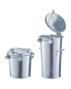 Renner DVE4040136205500 Mülleimer ohne Bügel 65 l verzinkt