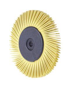 3M D4230907980 Radial Bristle Brush 150 x 12 mm P 80 gelb TypA